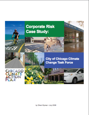 Corporate Risk Case Study: City of Chicago Climate Change Task Force