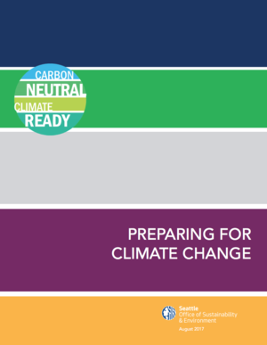 Seattle, Washington Climate Preparedness Strategy