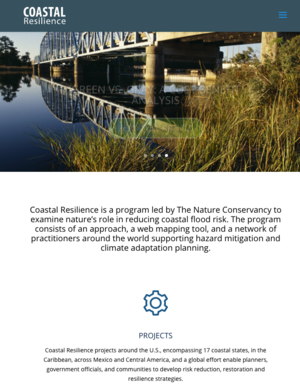 Nature Conservancy Coastal Resilience Program