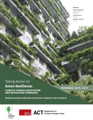 Taking Action on Green Resilience: Climate Change Adaptation and Mitigation Synergies