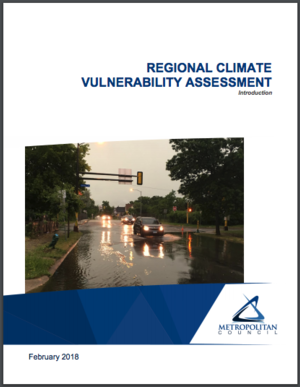 Twin Cities, Minnesota Metropolitan Council Climate Vulnerability Assessment Tool