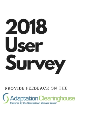 Help Us Improve the Adaptation Clearinghouse