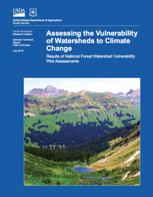 Assessing the Vulnerability of Watersheds to Climate Change