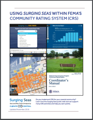 Surging Seas - FEMA NFIP Community Rating System Guide
