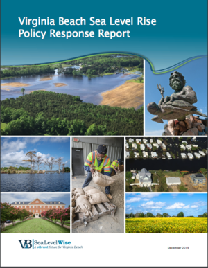 Virginia Beach Sea Level Rise Policy Response Report