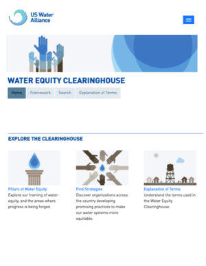 U.S. Water Alliance - Water Equity Clearinghouse