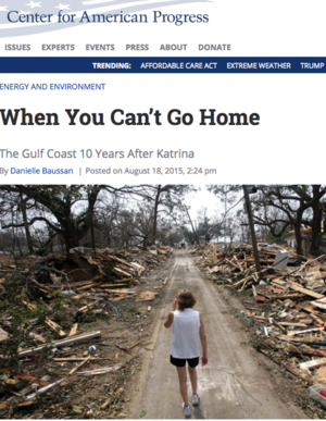 When You Can't Go Home - the Gulf Coast 10 Years After Katrina
