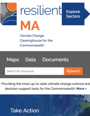 resilient MA: Climate Change Clearinghouse for the Commonwealth of Massachusetts