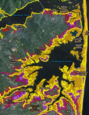 Sea-Level Rise Tool for Hurricane Sandy Recovery