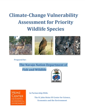 Navajo Nation Climate Change Vulnerability Assessment for Priority Wildlife Species