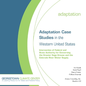 Adaptation Case Studies in the Western United States