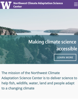 Northwest Climate Adaptation Science Center