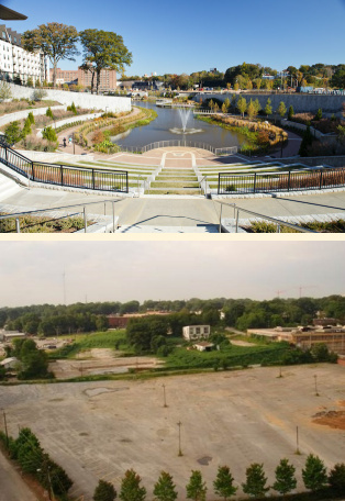 Green Infrastructure in Parks: A Guide to Collaboration, Funding
